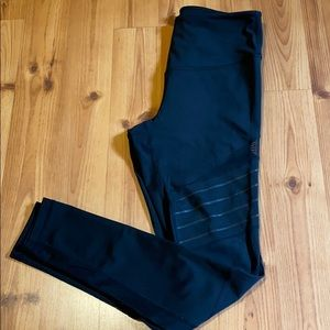 Zella Leggings with strip and mesh detail
